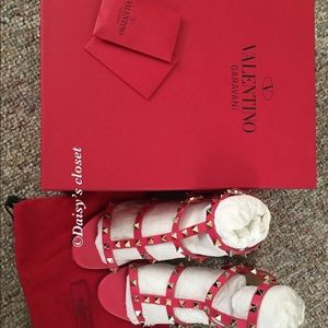 Authentic Valentino preowned sandals